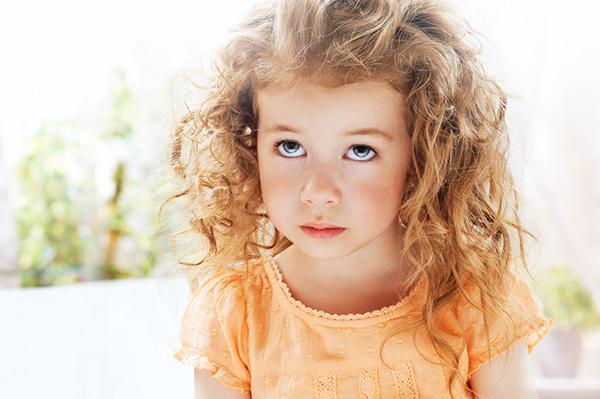 30897637 - beautiful child is sad